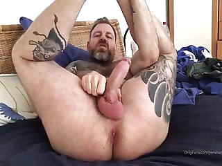 OnlyFans German Gaypornstar Jens Hammer Solo bear (gay) big cock (gay) daddy (gay)