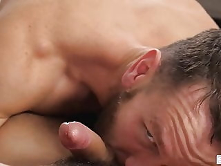 Dad Creep - Bailed Out - Sean Peek and Kit Cohen bareback (gay) big cock (gay) blowjob (gay)