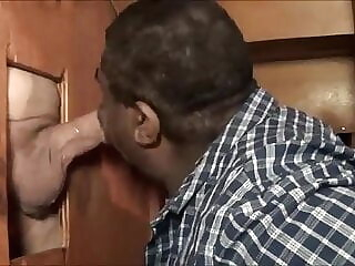 Beer Can Alpha Cock Worshipped By big lip black faggot black amateur bear