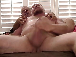 Billy Palermo and Graydon Emory Ford (BAB P4) bareback bear daddy