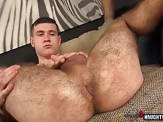 Hairy gay gaping and cumshot big cock gaping hunk