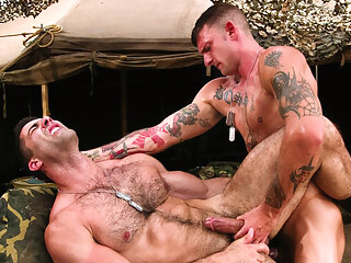 Ricky Sinz & Roman Ragazzi in Grunts The New Recruits, Scene #01 gay bear gay hd gay military