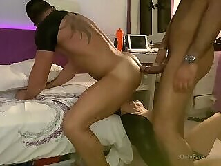 OF - 15 - Andy S - Hot 3some cumshot big cock homemade