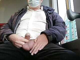 Ruined Cumshot in Public Traffic 3:10 2020-12-30