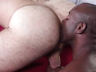 Extra Big Dicks - Big And Bigger - Aaron Trainer & Parker black bareback big cock