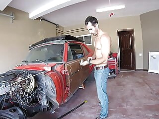 big dick in the garage 18:22 2020-12-27