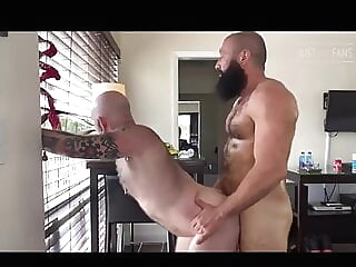 Pigweek 2019 part 2 bareback bear blowjob