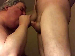 Servicing Bae amateur blowjob gay sex
