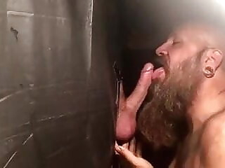 Huge cumshot bear blowjob bukkake