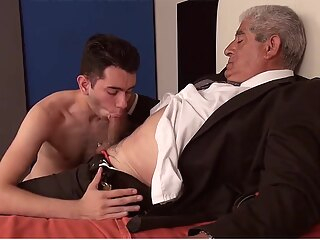Incredible homemade gay video with Daddies, Young/Old scenes 5:02 2017-08-28